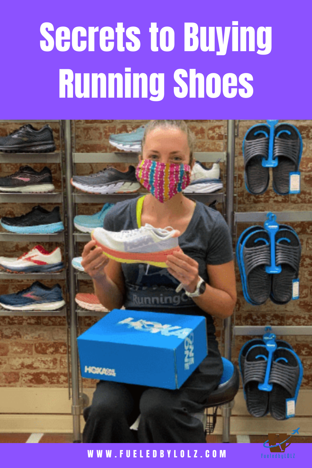Secrets to buying running shoes