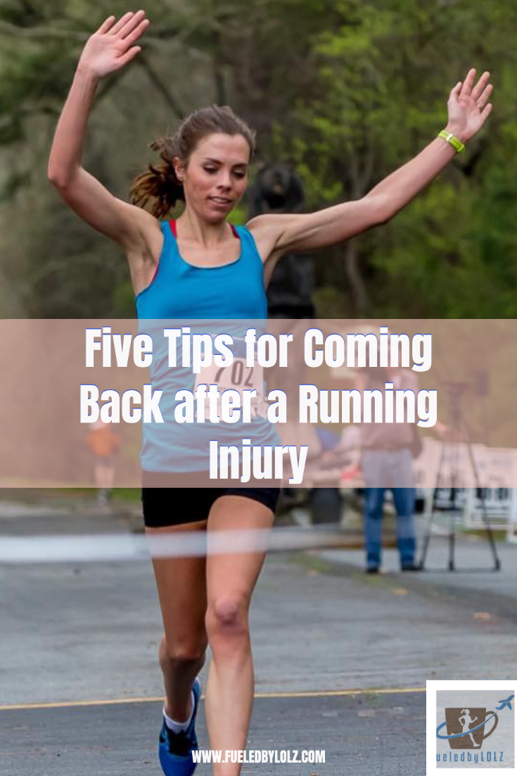 Five Tips for Coming Back after a Running Injury