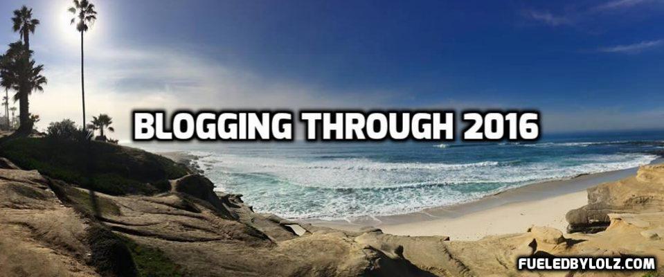 Blogging through 2016