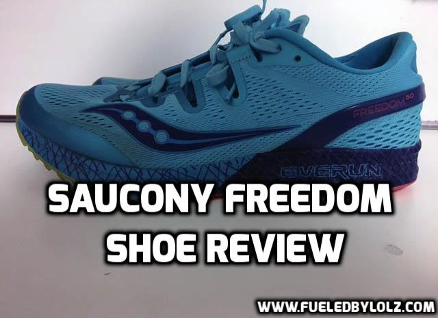 Saucony freedom shoe review