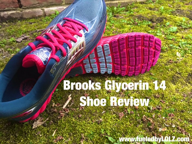 Brooks glycerin 14 shoe review