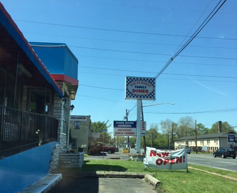 White Horse Diner Trenton
