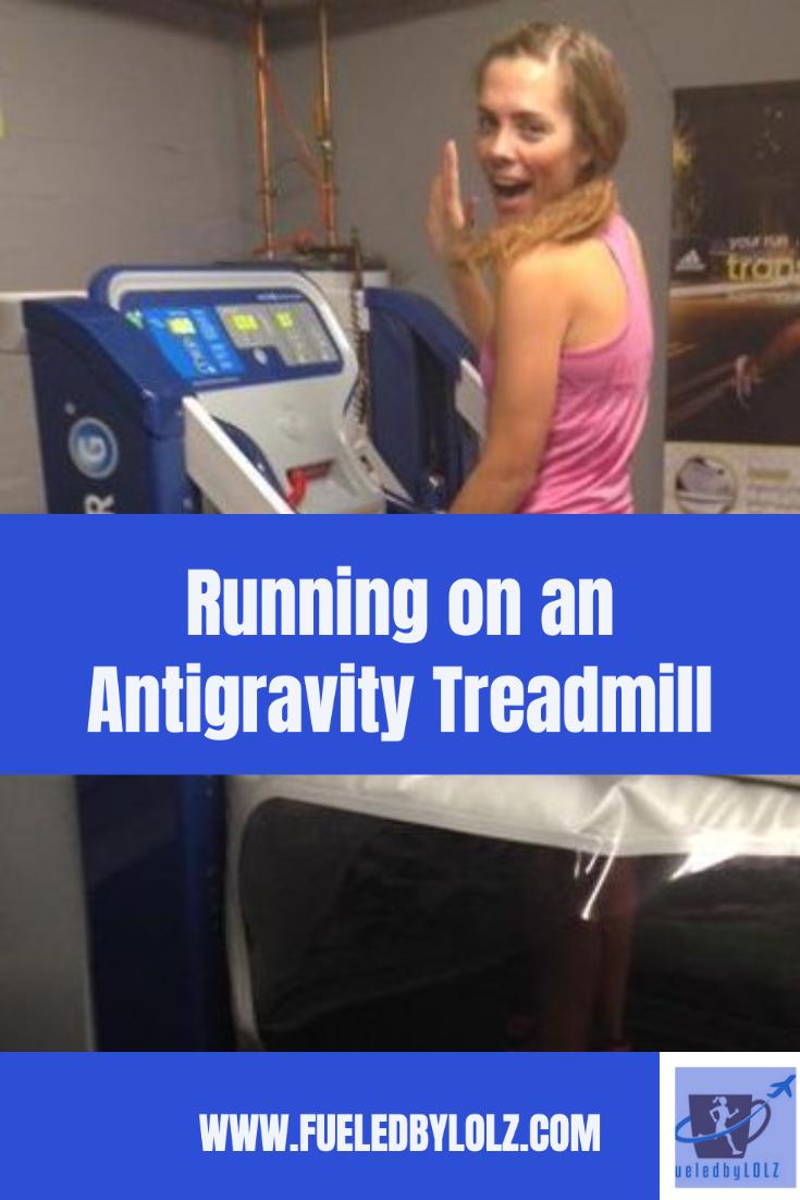 Running on an AlterG Treadmill (AntiGravity Treadmill)