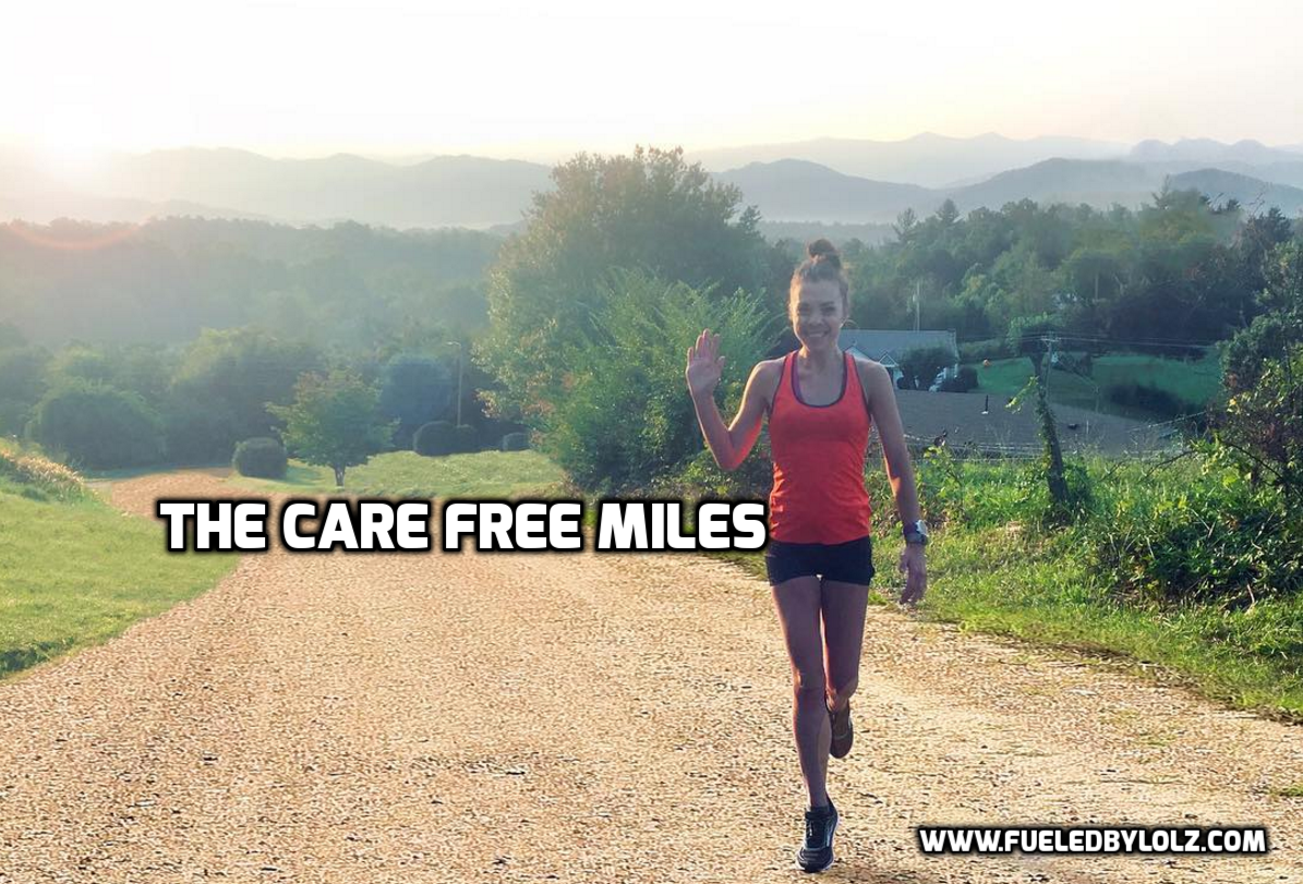 Easy care free miles running