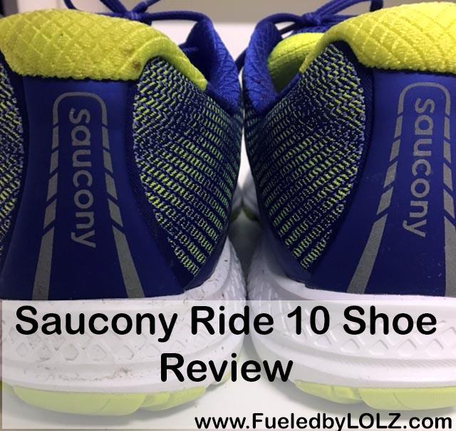 aucony ride 10 shoe review