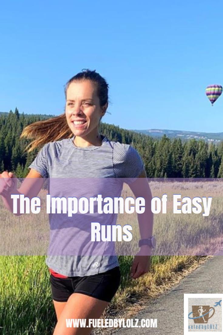 Importance of easy runs