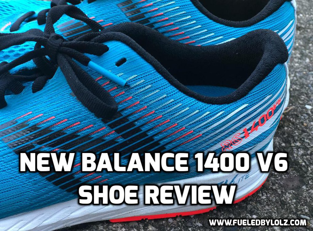 New Balance 1400 v6 show review