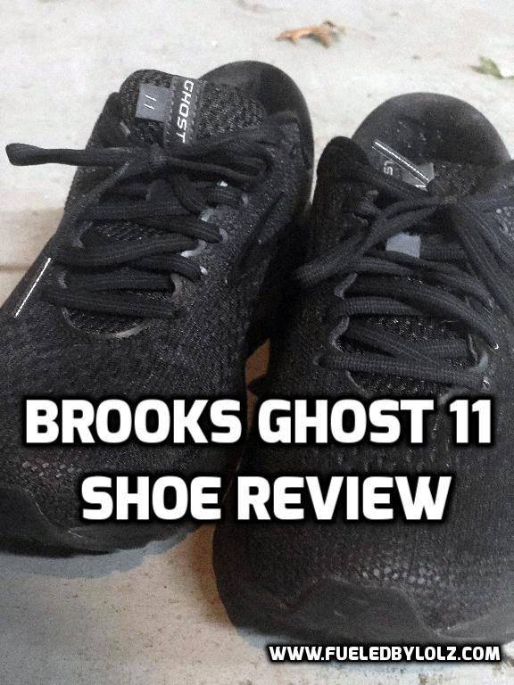 Brooks Ghost 11 shoe review