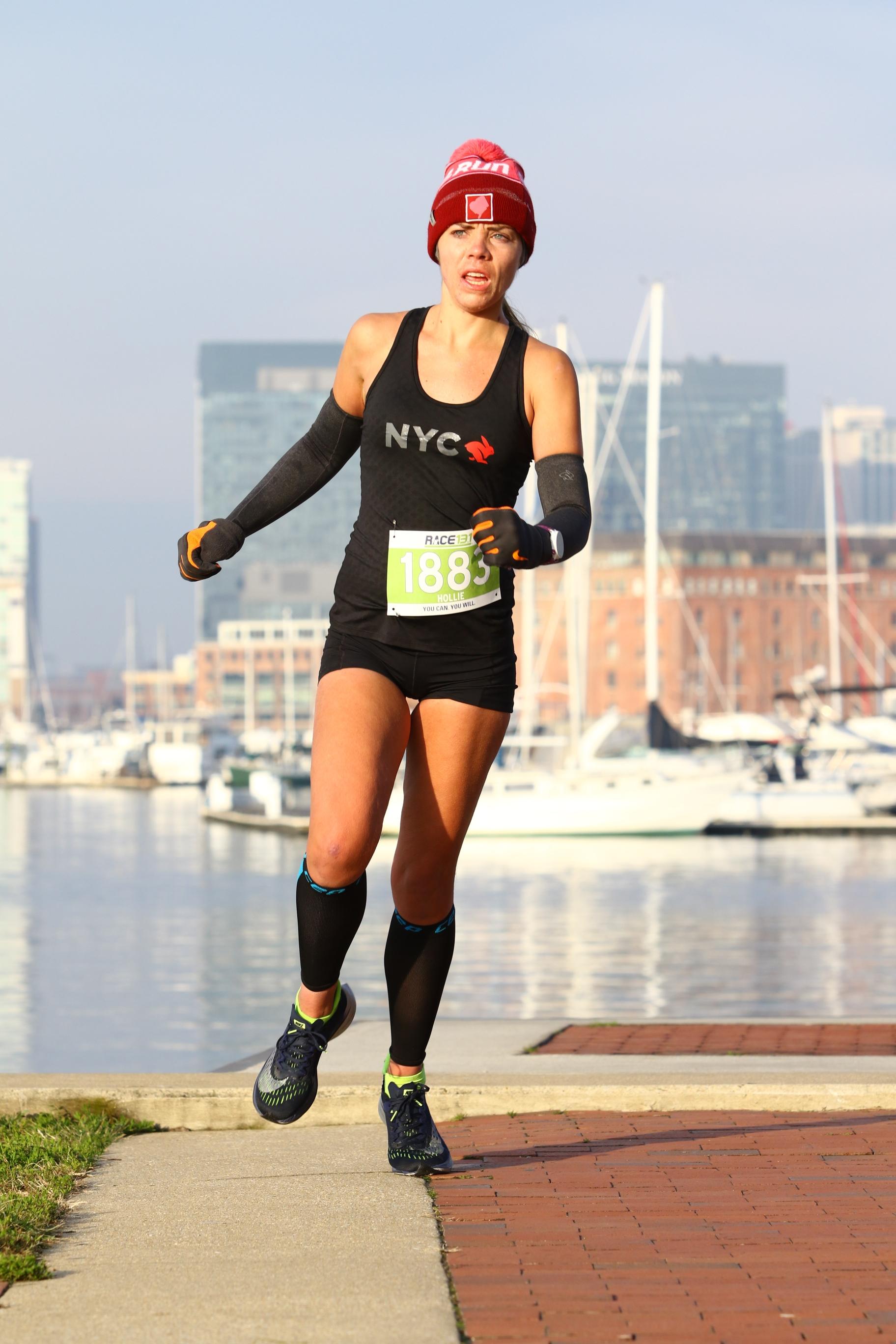 me running race 13.1 baltimore