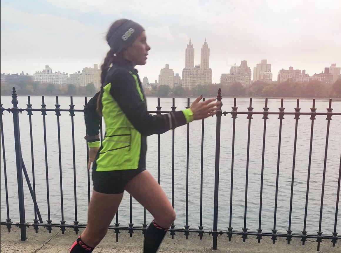 me running new york city