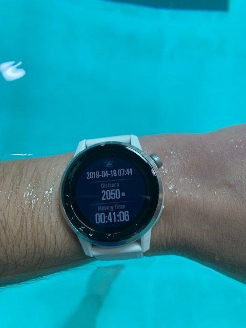 swimming me