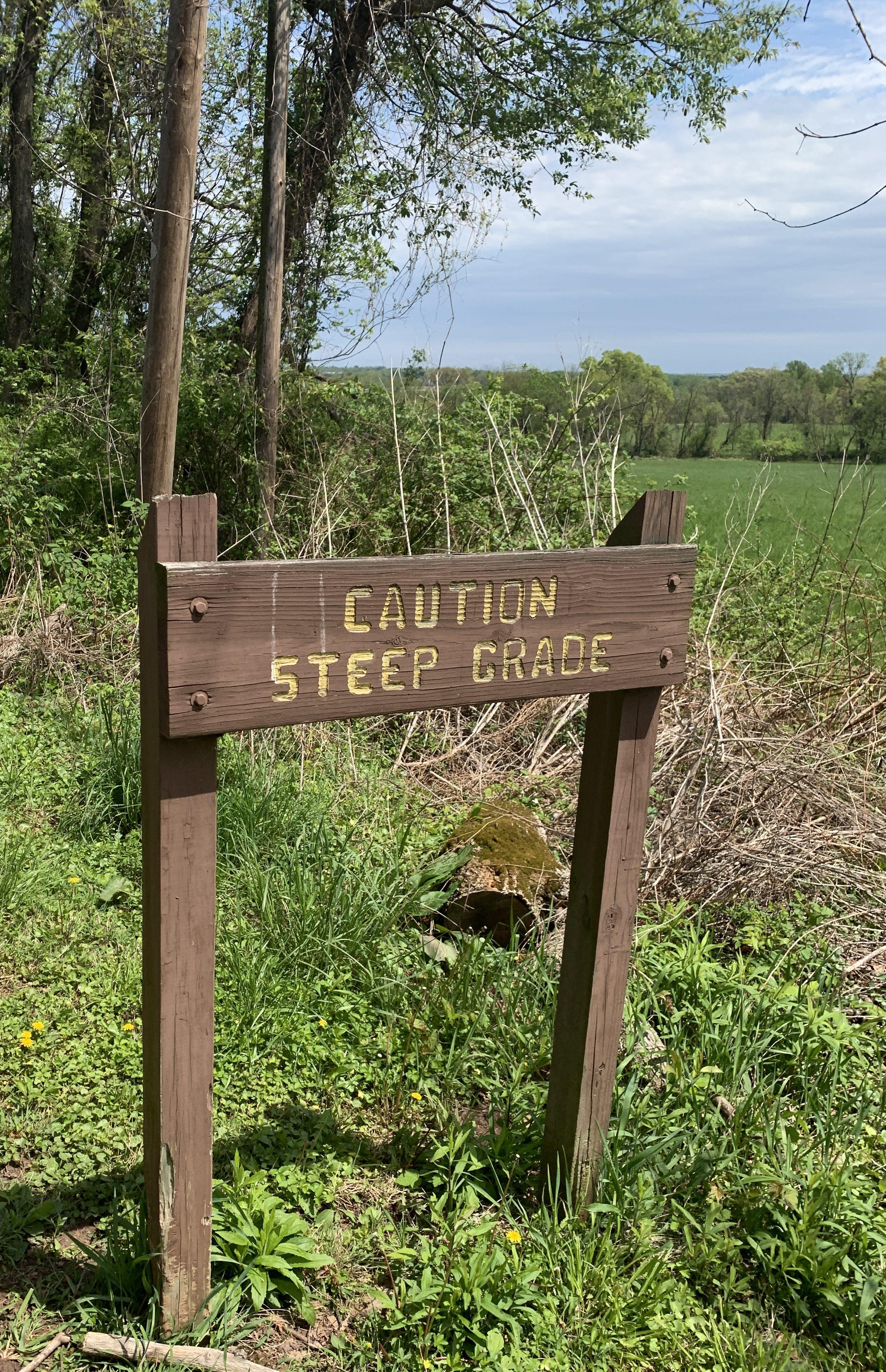 Hiking Tyler State Park Newton PA
