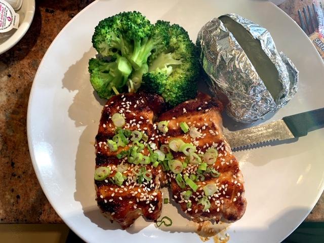 Caldwell Diner NJ pork chops