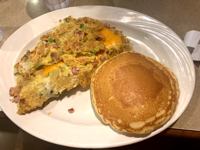 Park Place Diner Matawan Farmers Omelet