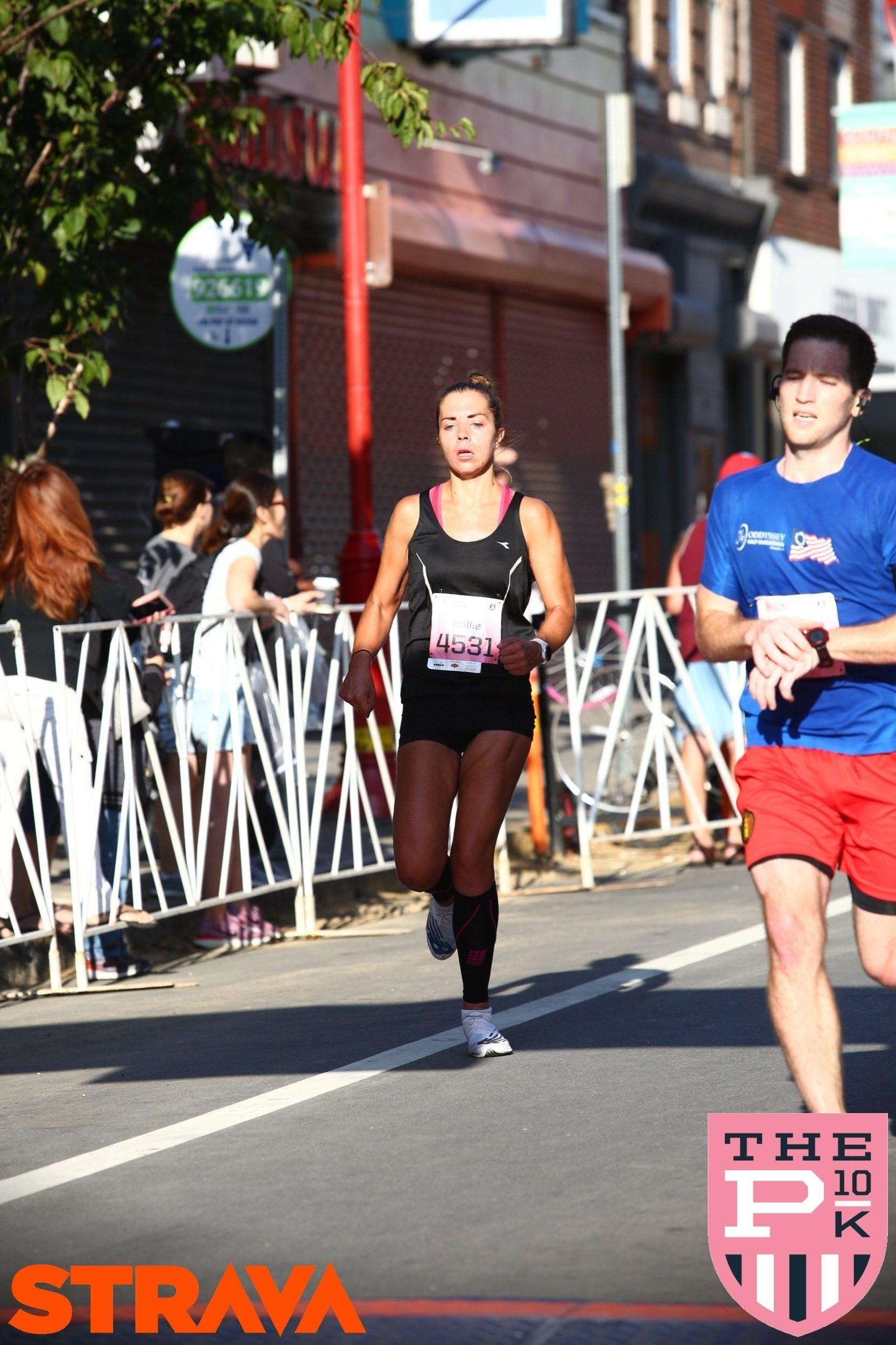 Me Running Philly 10k