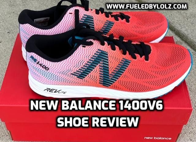New Balance 1400v6 Shoe Review
