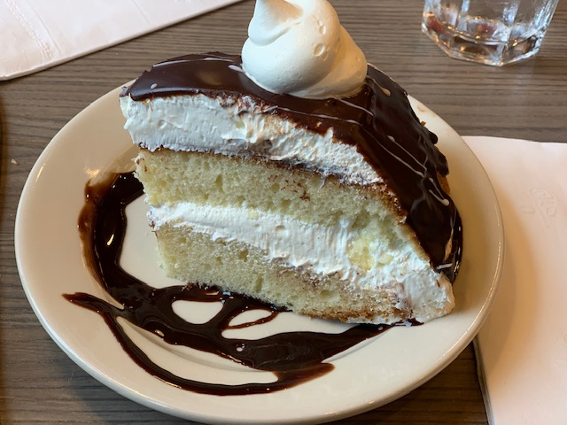 Olgas Diner Marlton boston cream pie