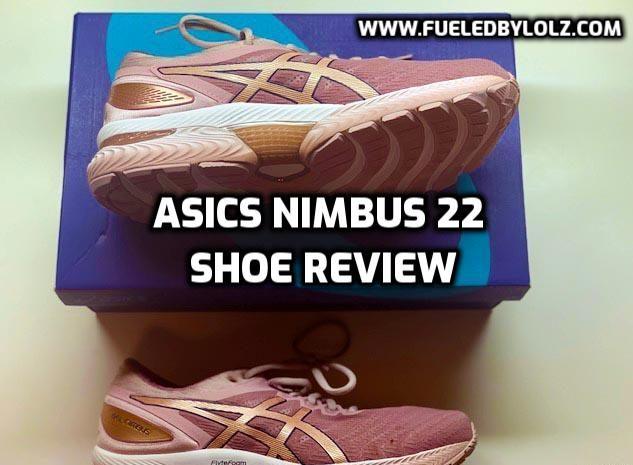 asics gel nimbus 22 shoe review