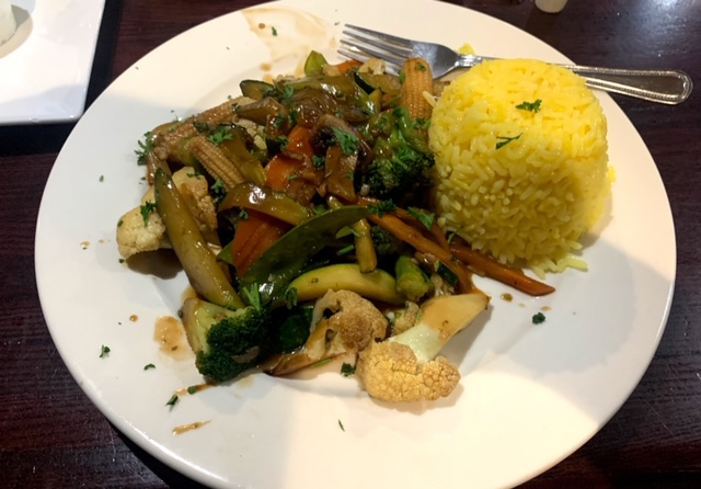 Townsquare diner Wharton stirfry