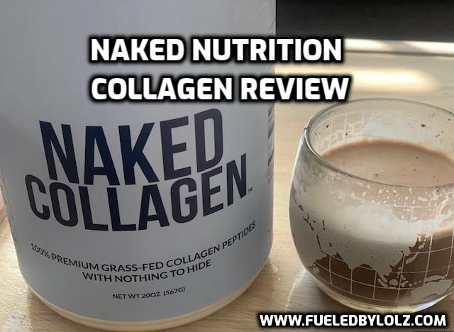 Naked nutrition collagen