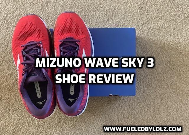 Mizuno Wave Sky 3 Shoe Review