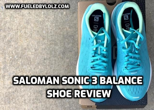 Saloman Sonic 3 Balance Shoe Review