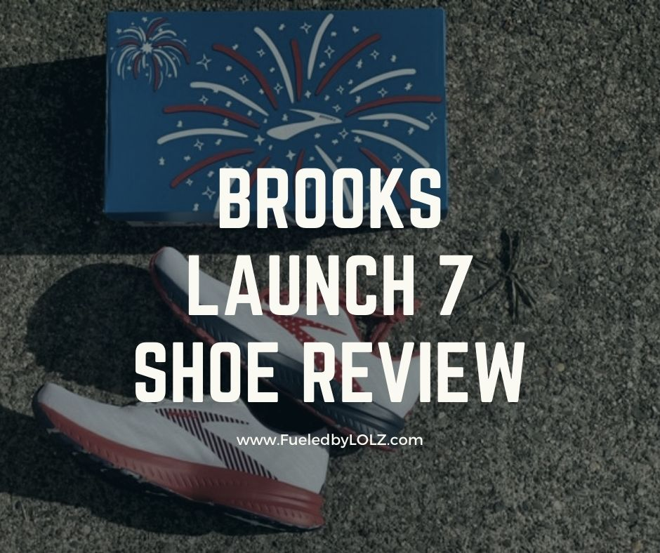 Brooks Launch 7 Shoe Review