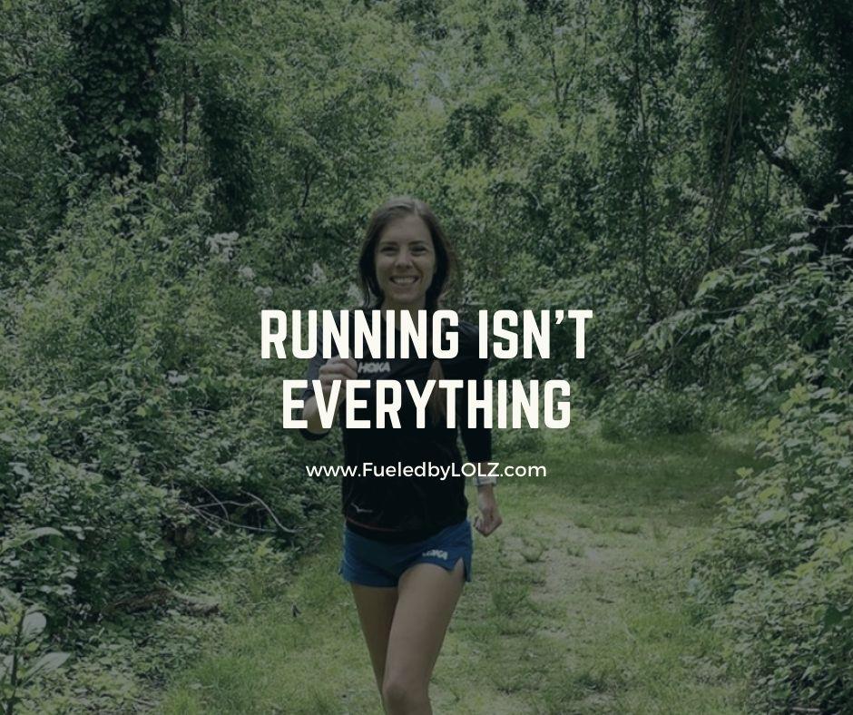 Running Isn't Everything