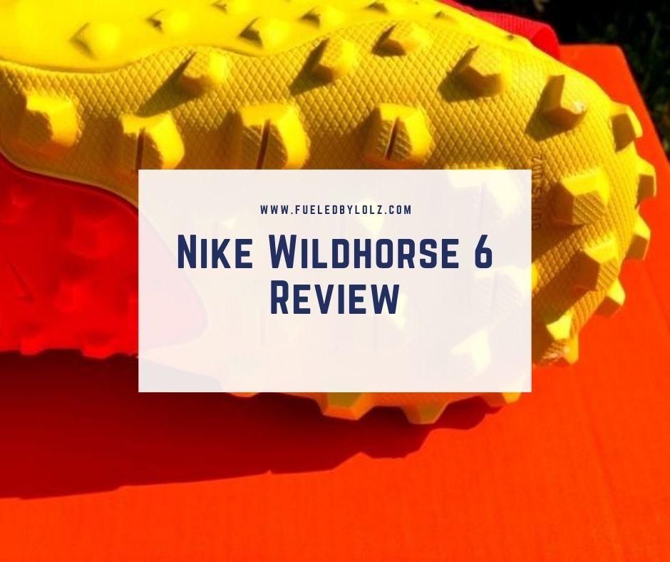 Nike Wildhorse 6 Shoe Review