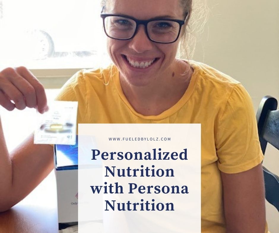Personalized Nutrition with Persona Nutrition