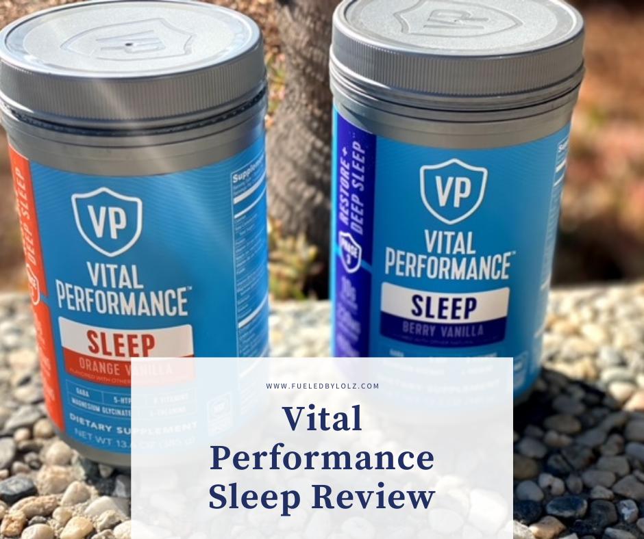 Vital Performance Sleep Review