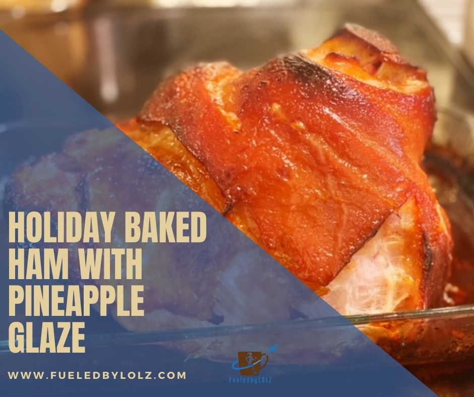 Holiday Baked Ham with Pineapple Glaze