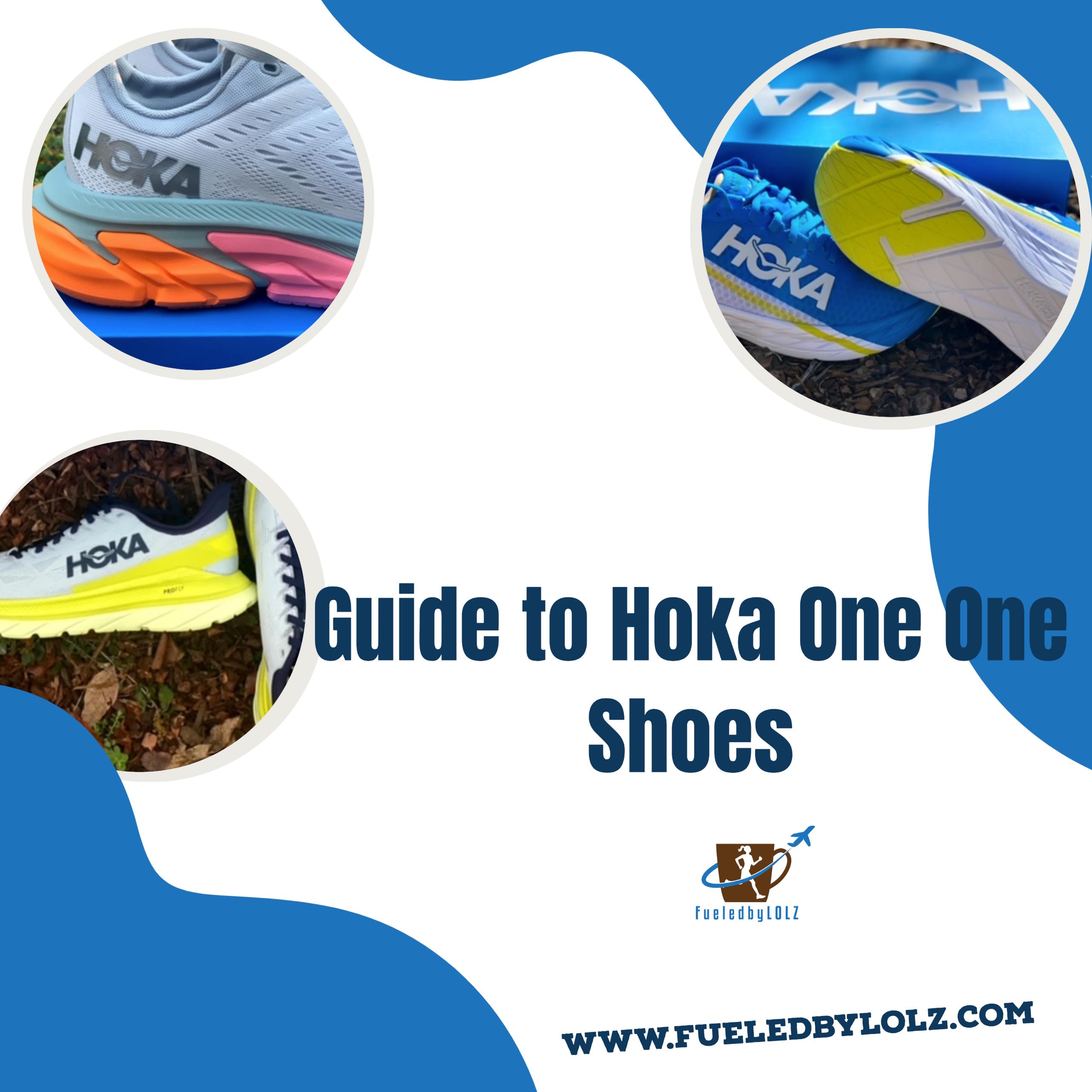 guide to hoka running shoes
