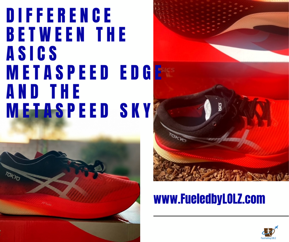 Difference between the Asics Metaspeed Edge and the Metaspeed Sky