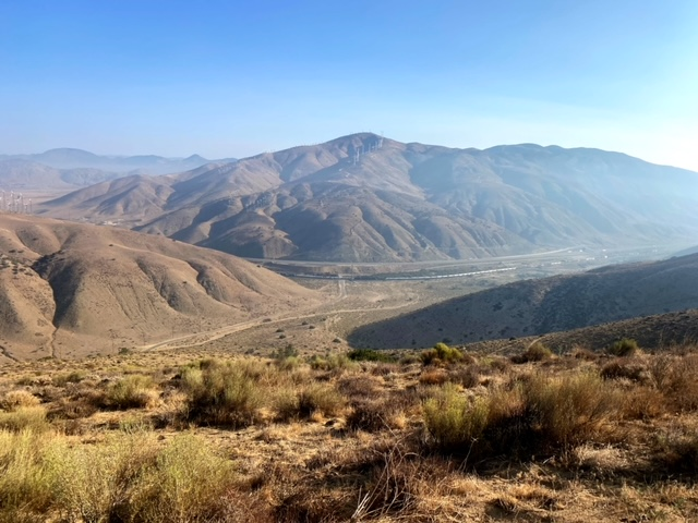 Running the Pacific Crest Trail at Willow Springs
