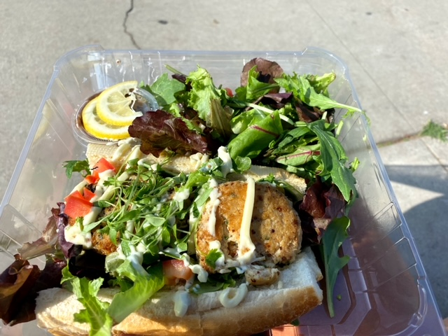 Starling Diner (Long Beach, CA) crab cakes